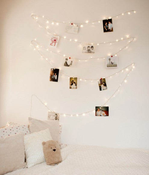 print phtos, fairy lights, proposal wedding,