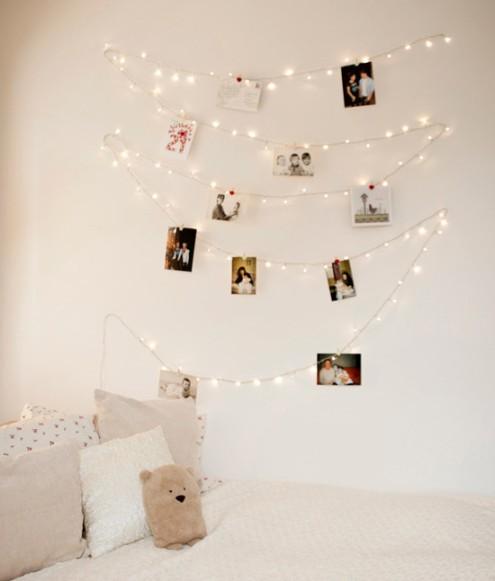 print phtos, fairy lights, proposal wedding,