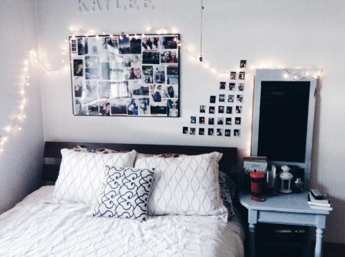 fairy lights, photo prints, instagram, instax, polaroid