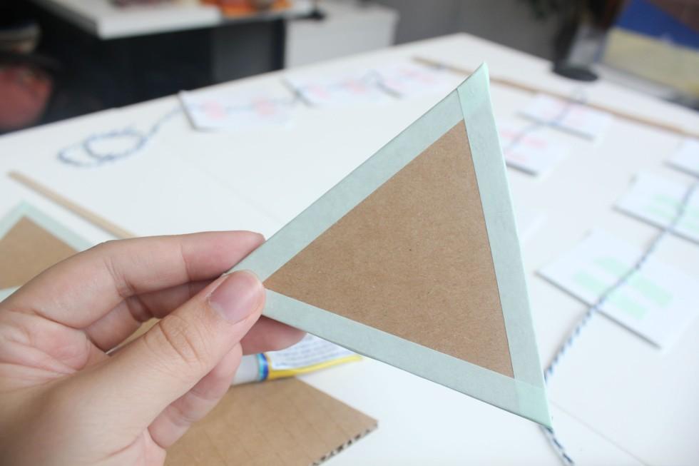 washi tape cardboard