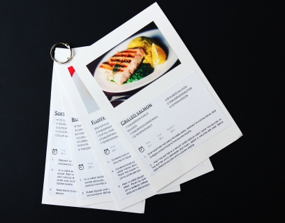 photo recipe cards