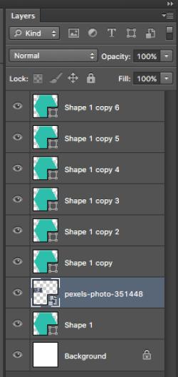 Rearranging Image Layer