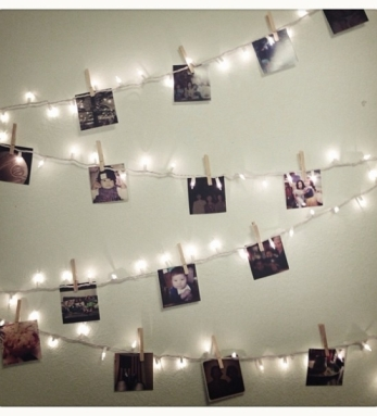 Photo Banner fairy lights