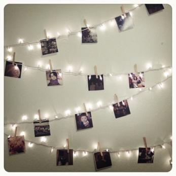 Photo Banner fairy lights