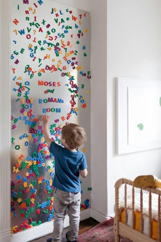 kids magnet board